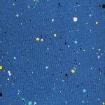 Détail motif bleu électrique